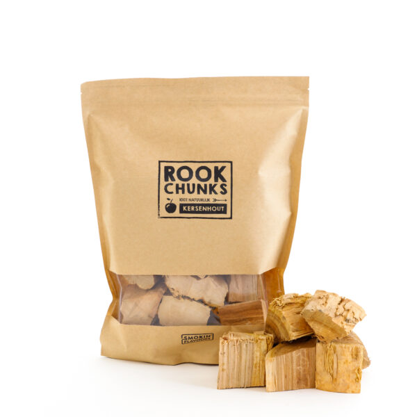 Rookhout Chunks 1,5 kg kers