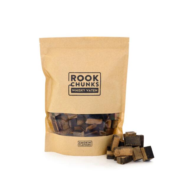 Rookhout Chunks 1,5 kg whisky